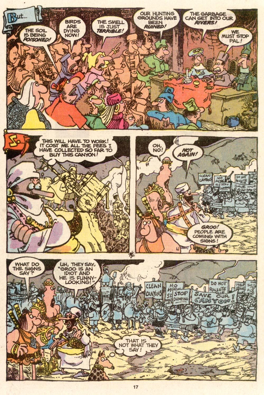 Read online Sergio Aragonés Groo the Wanderer comic -  Issue #65 - 17