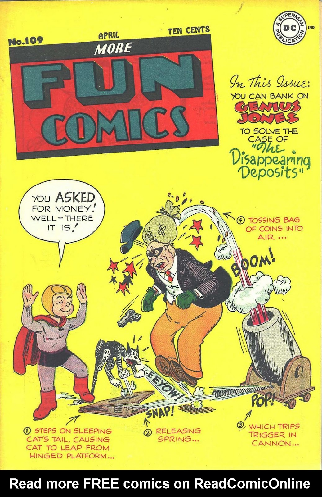 More Fun Comics 109 Page 1