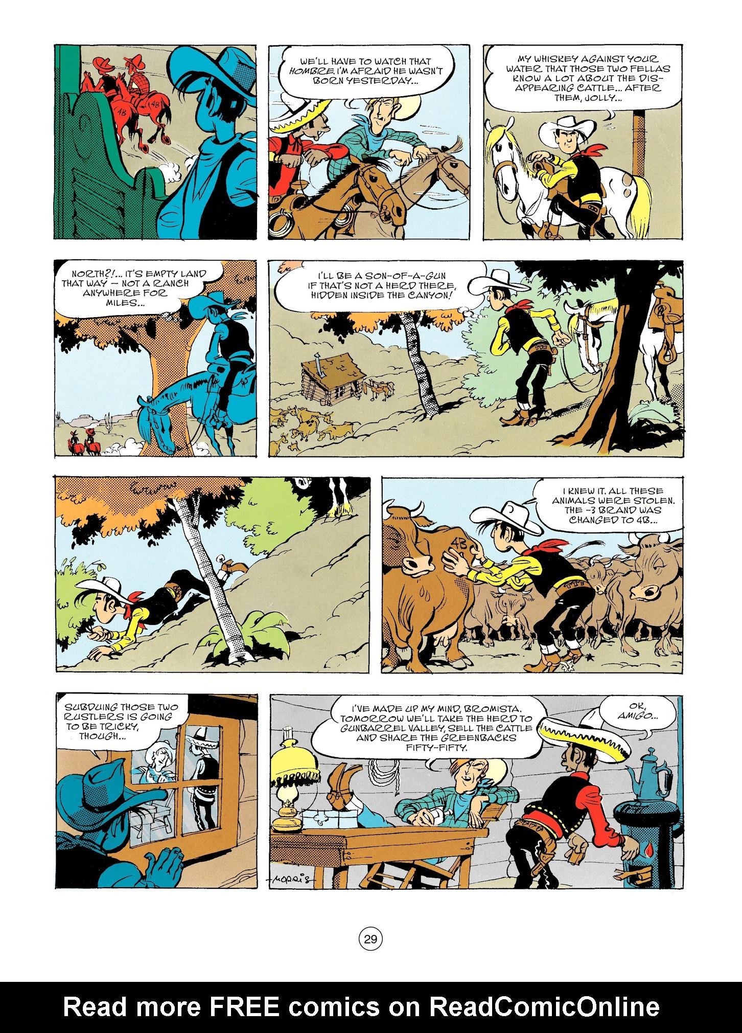 Read online A Lucky Luke Adventure comic -  Issue #56 - 29
