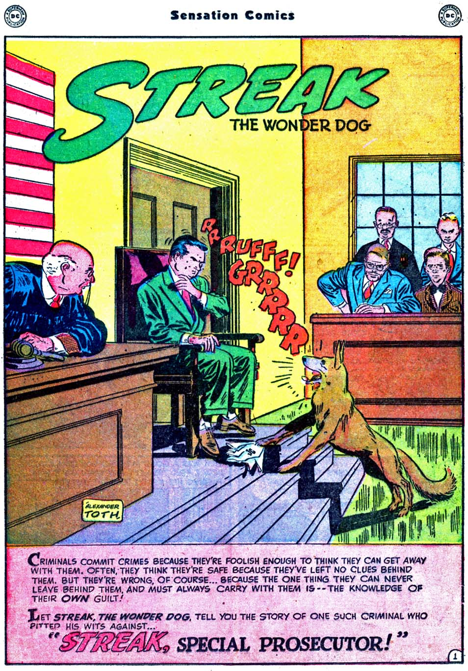 Read online Sensation (Mystery) Comics comic -  Issue #91 - 17