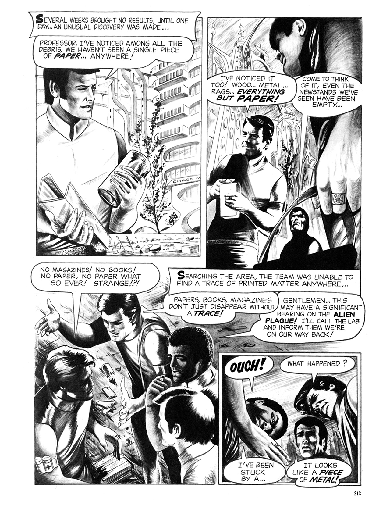 Read online Eerie Archives comic -  Issue # TPB 6 - 213