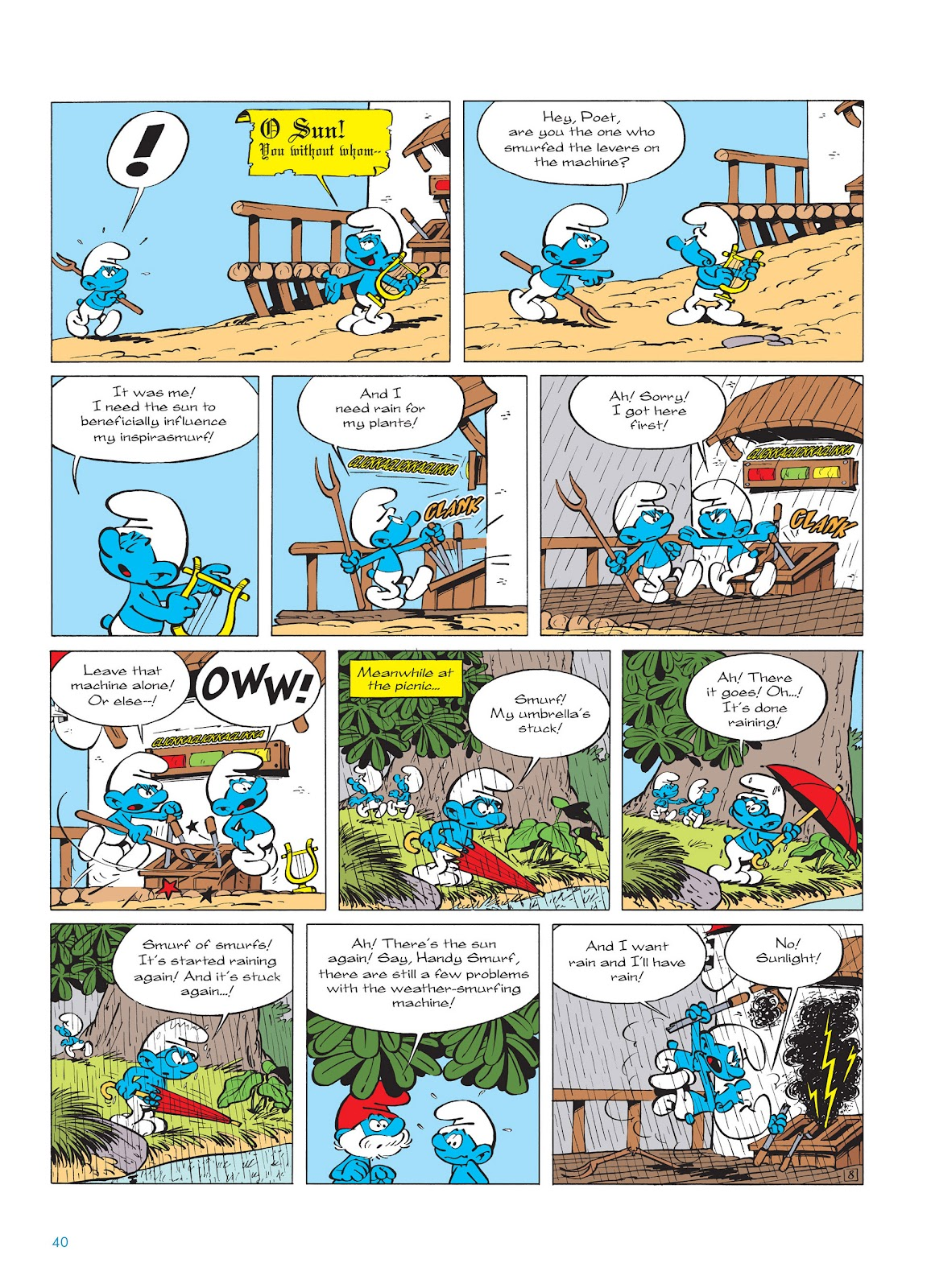 Read online The Smurfs comic -  Issue #14 - 41