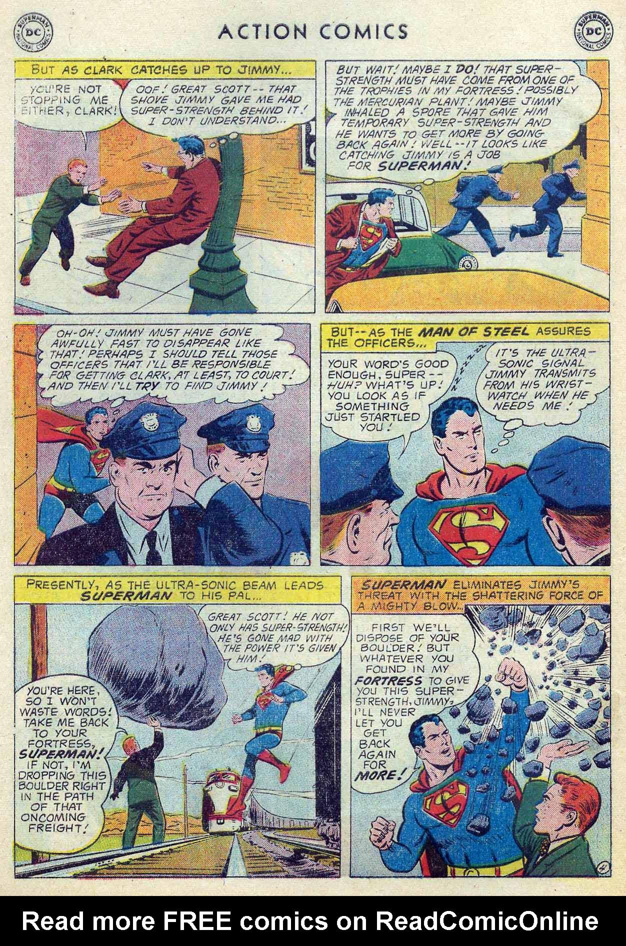 Read online Action Comics (1938) comic -  Issue #253 - 6