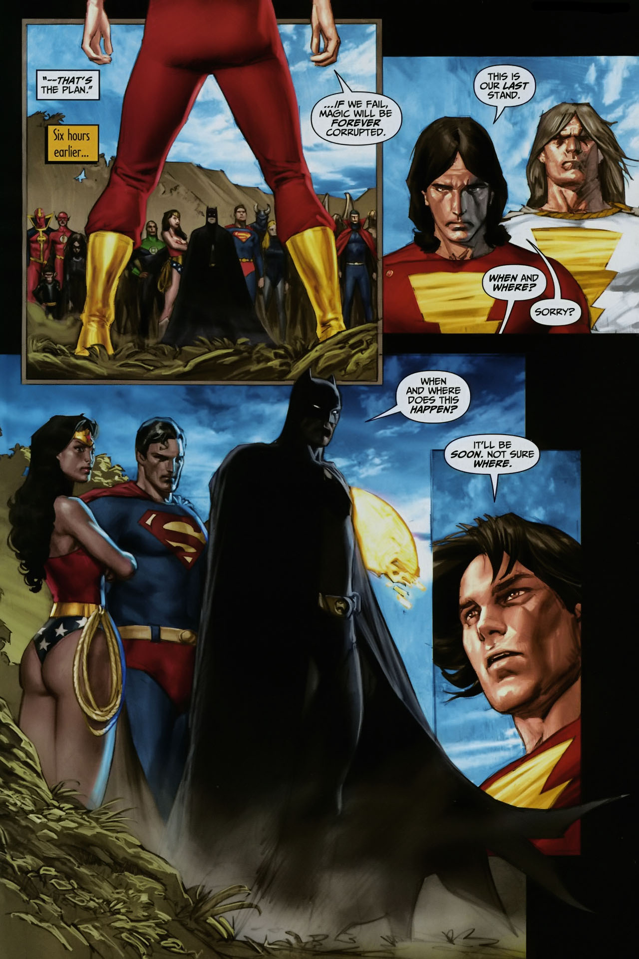 Read online Trials of Shazam comic -  Issue #12 - 5