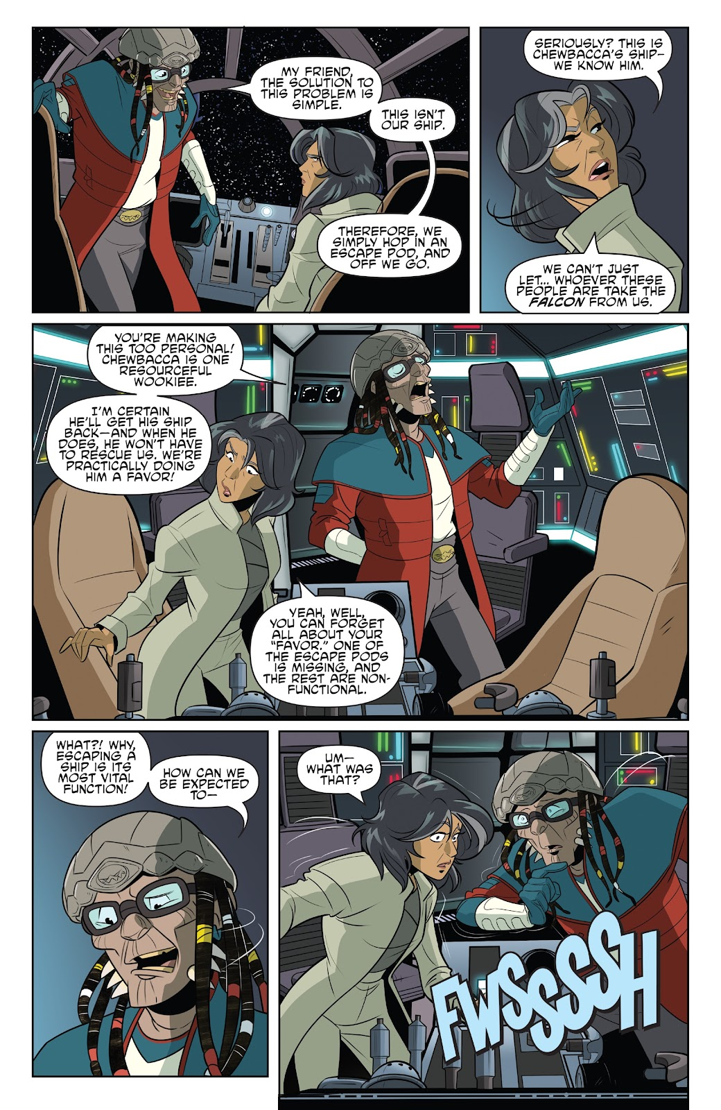 Read online Star Wars Adventures: Flight of the Falcon comic -  Issue # Full - 15