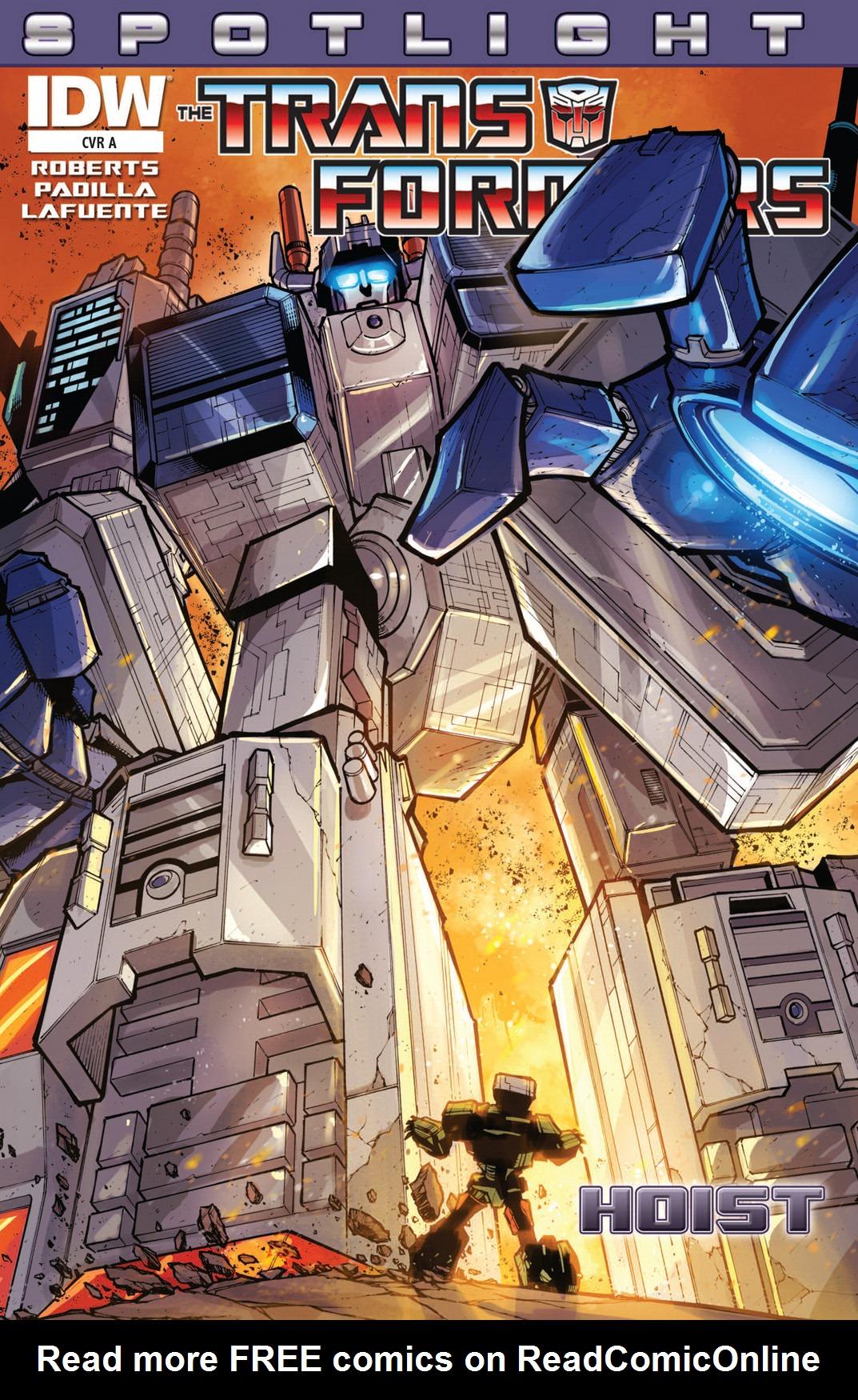 The Transformers Spotlight: Hoist Full Page 1