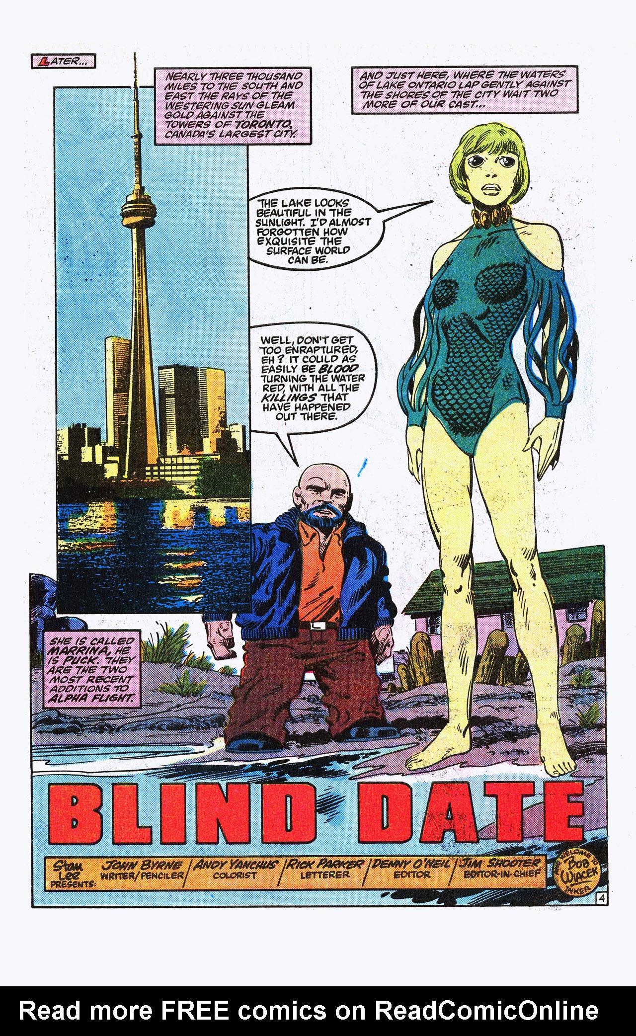 Read online Alpha Flight (1983) comic -  Issue #15 - 5