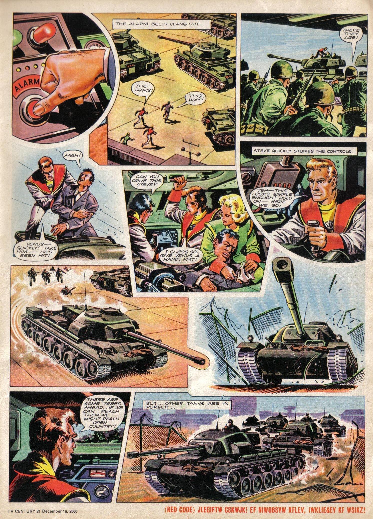 Read online TV Century 21 (TV 21) comic -  Issue #48 - 5