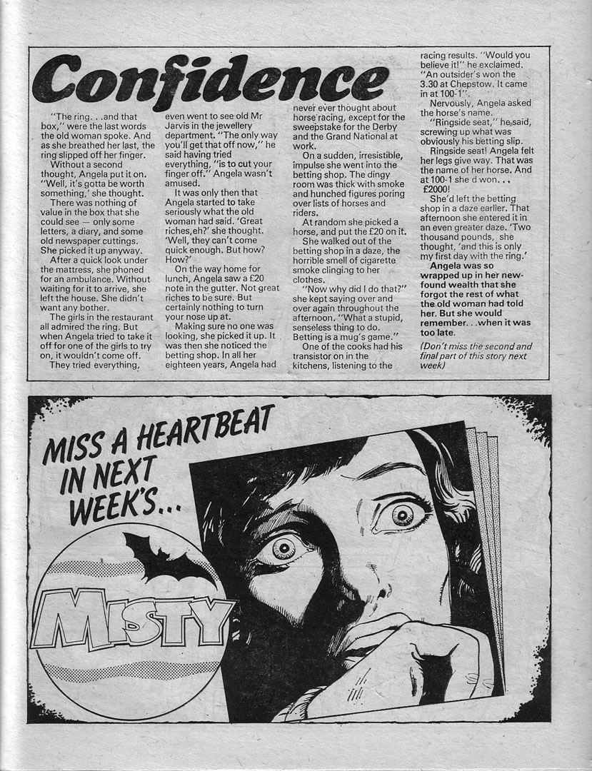 Read online Misty comic -  Issue #16 - 21