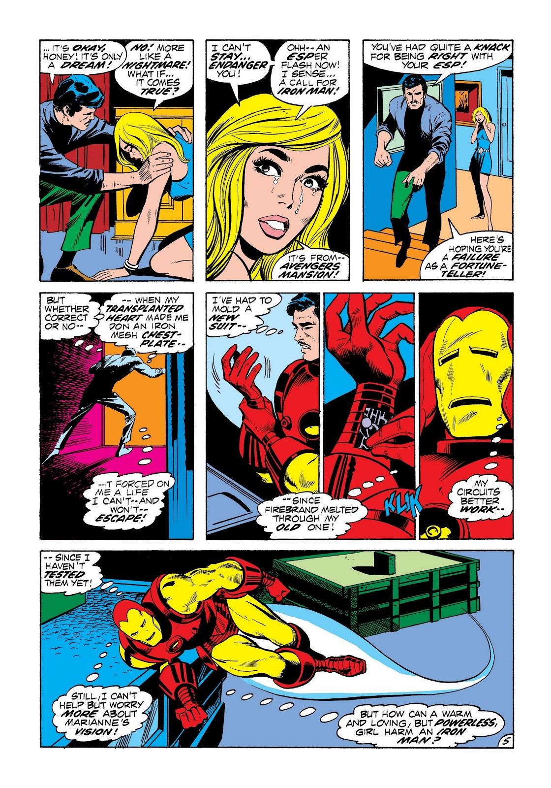 Read online Marvel Masterworks: The Invincible Iron Man comic -  Issue # TPB 8 (Part 3) - 15