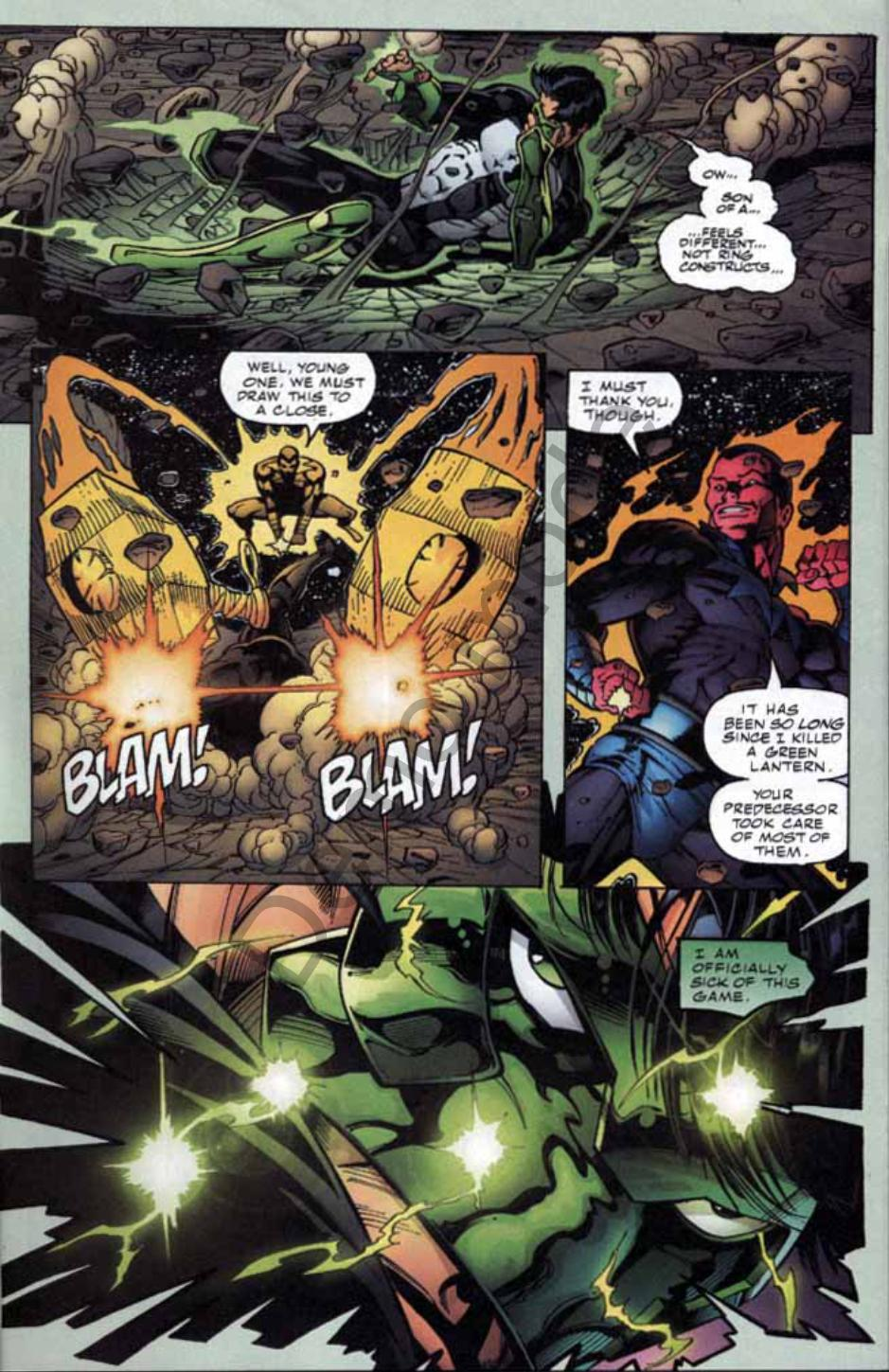 Read online Green Lantern: Our Worlds At War comic -  Issue # Full - 21