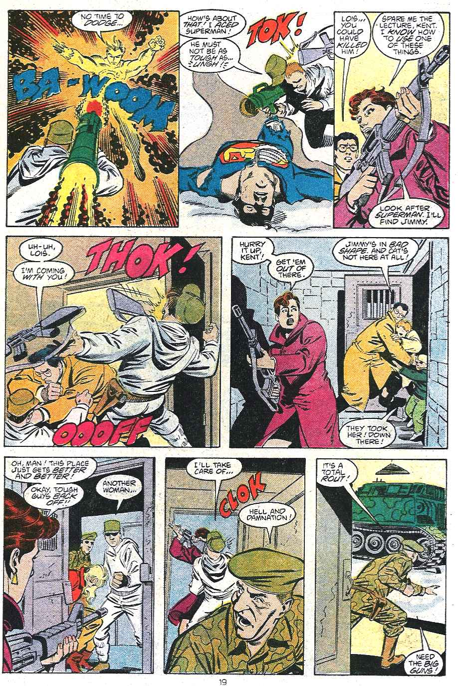 Read online Adventures of Superman (1987) comic -  Issue #439 - 20