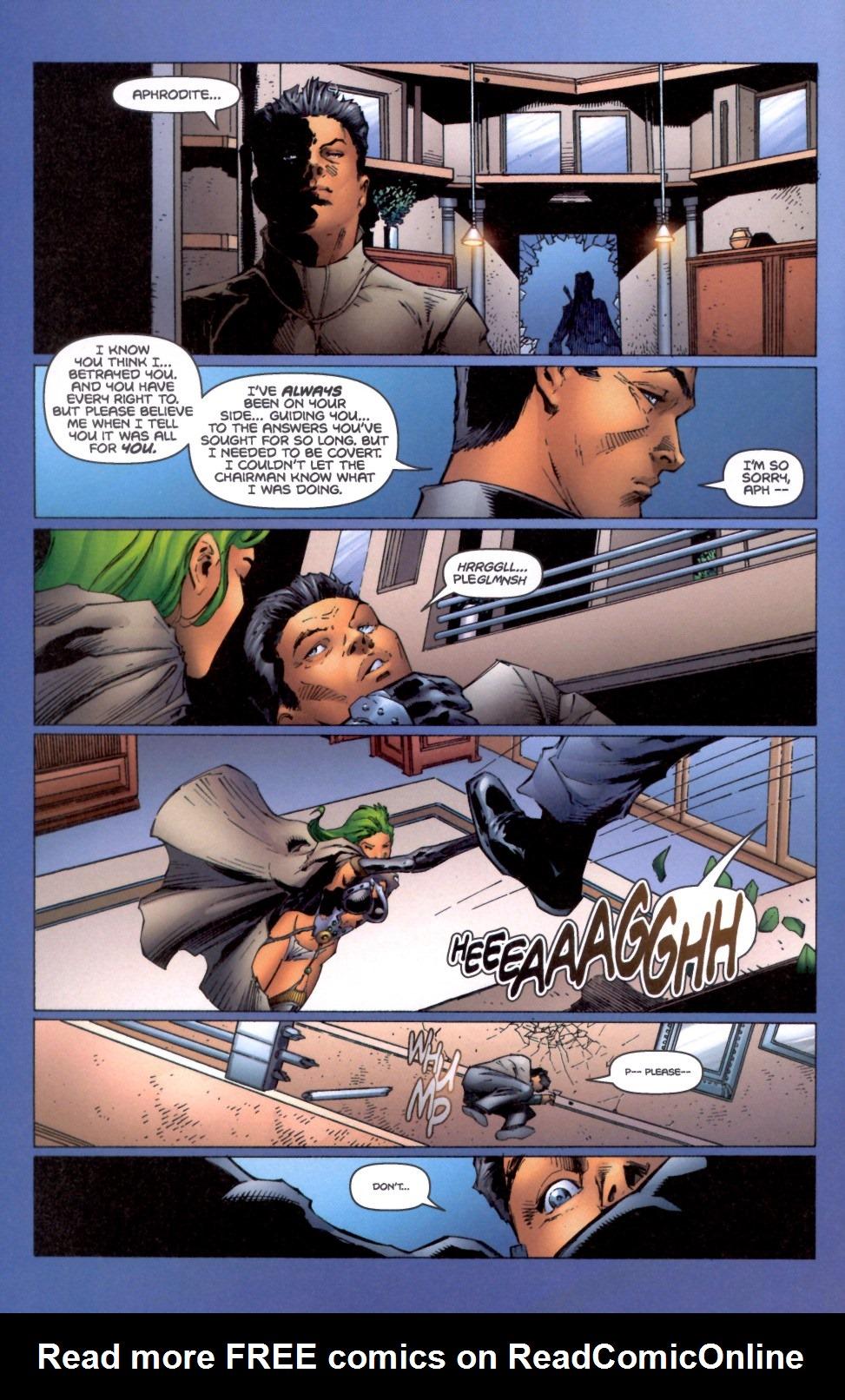 Read online Aphrodite IX (2000) comic -  Issue #4 - 23