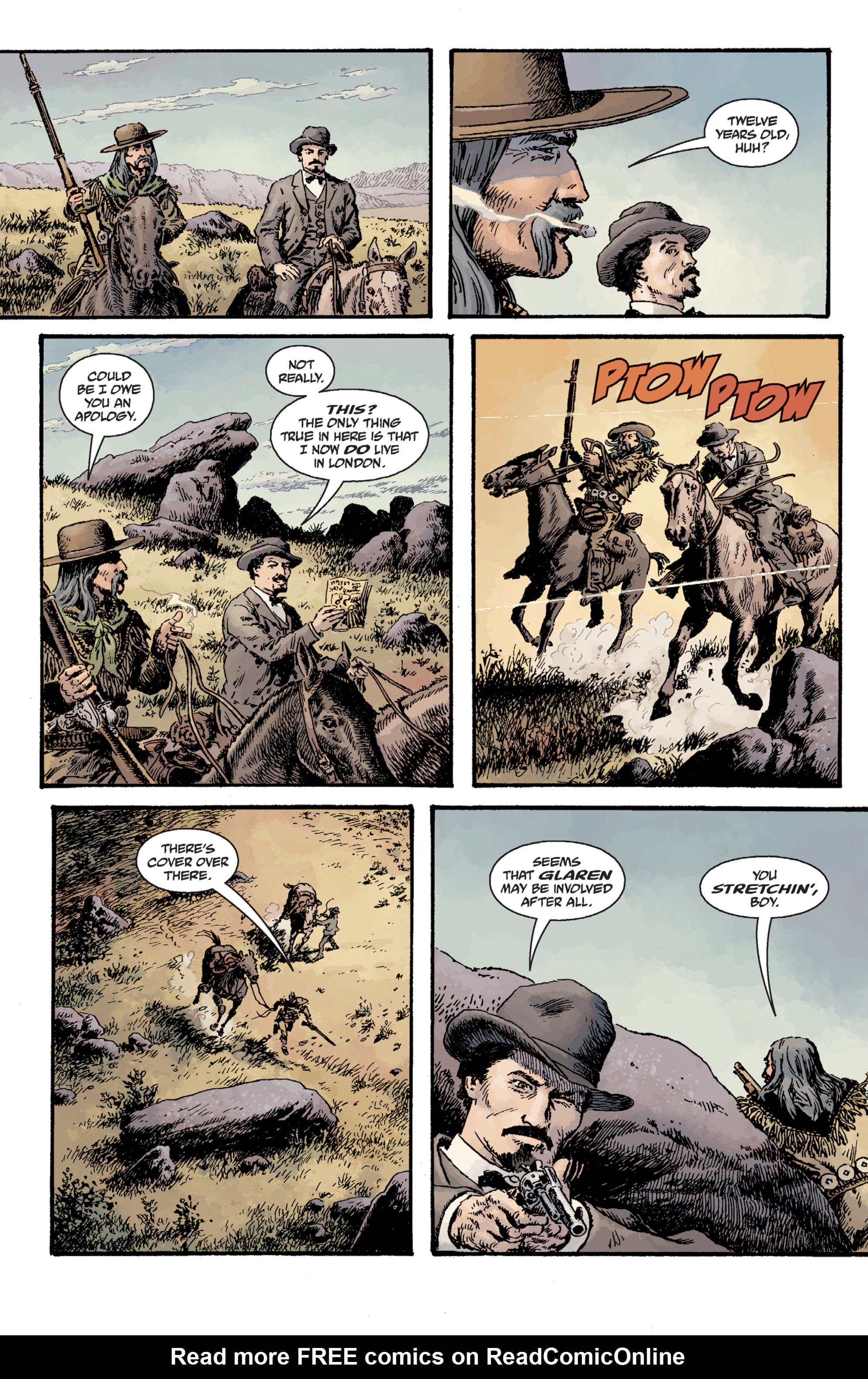Read online Sir Edward Grey, Witchfinder: Lost and Gone Forever comic -  Issue # TPB - 47