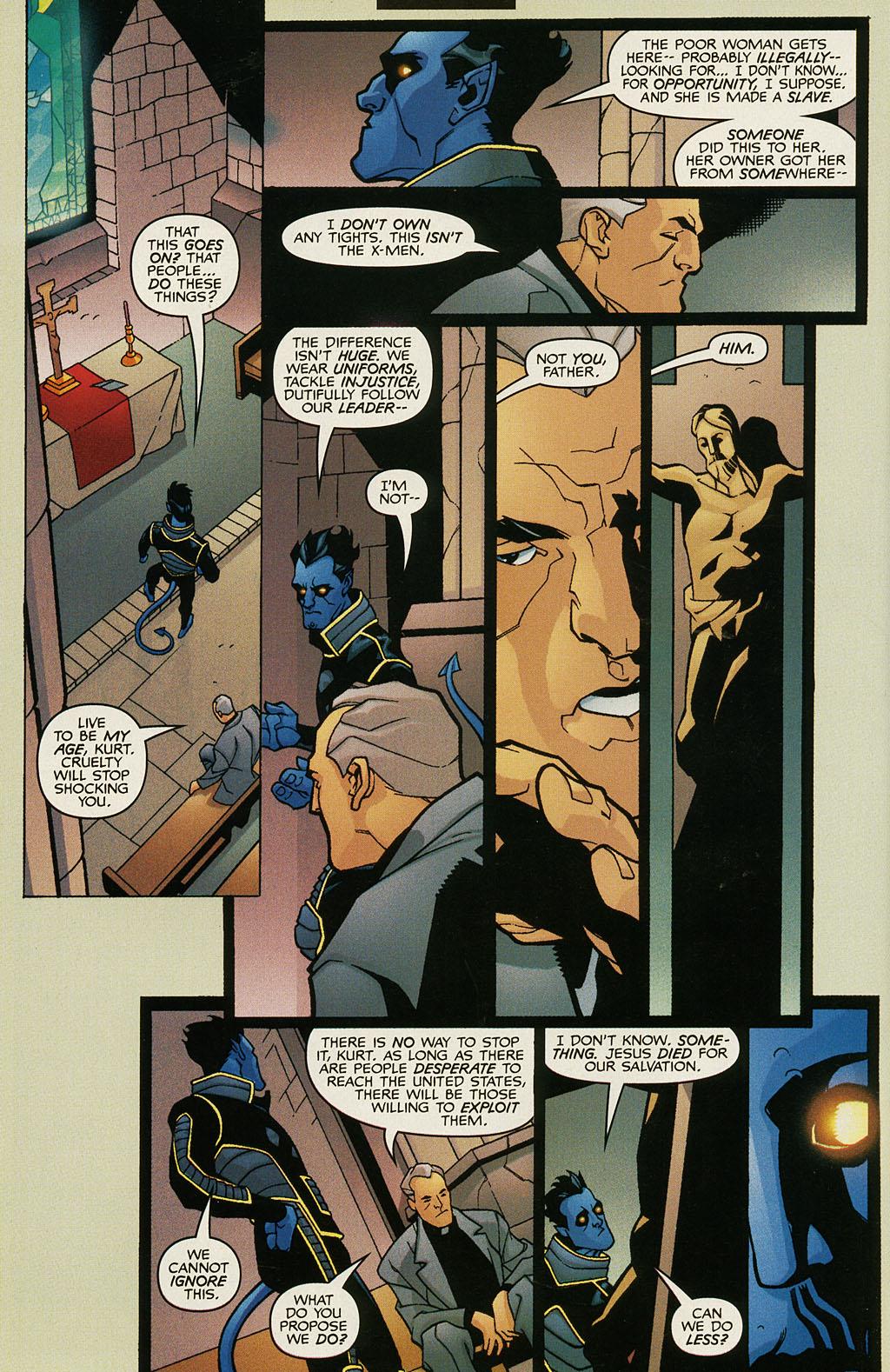 Read online Nightcrawler (2002) comic -  Issue #1 - 9