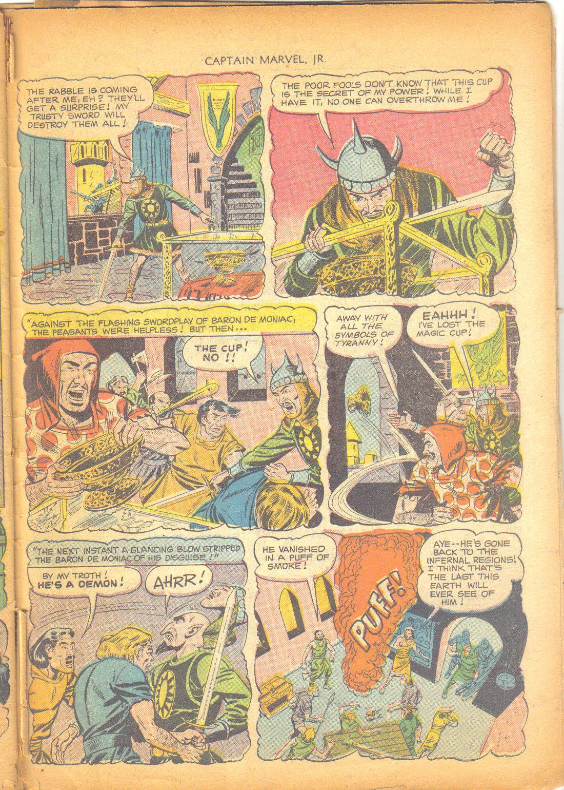Captain Marvel, Jr. issue 95 - Page 42