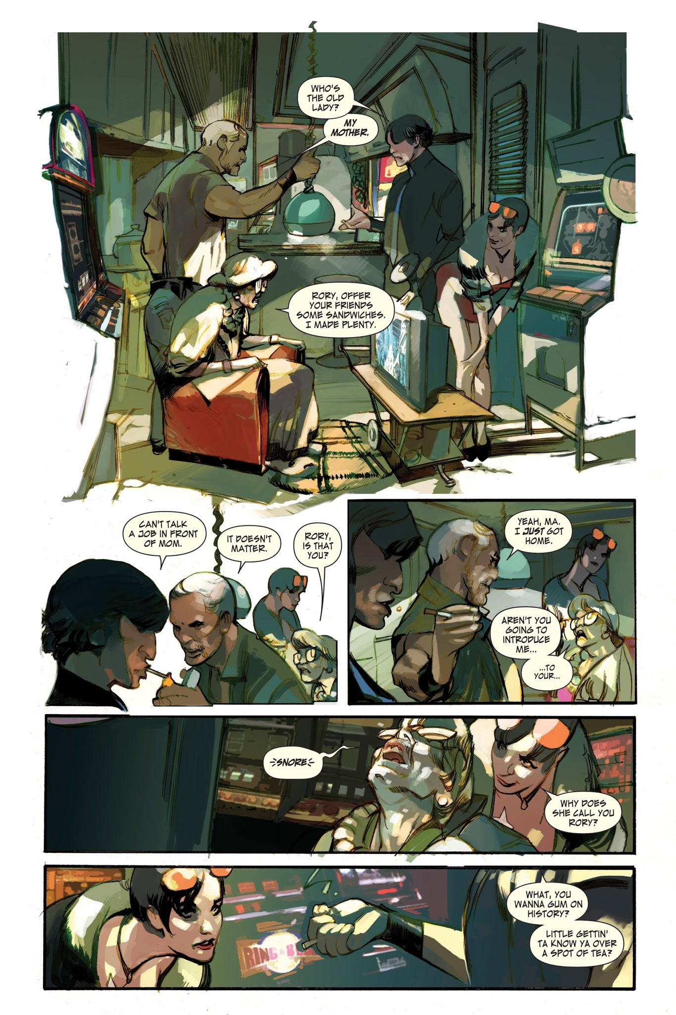 The Last Days Of American Crime Tpb Read The Last Days Of American Crime Issue Tpb Page 38