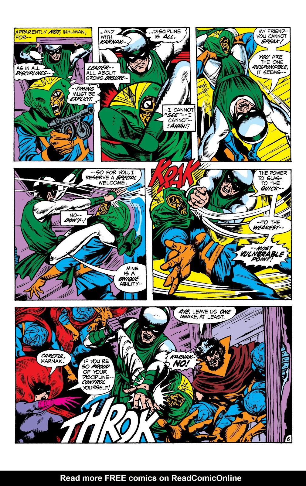 Read online Marvel Masterworks: The Inhumans comic -  Issue # TPB 1 (Part 2) - 63