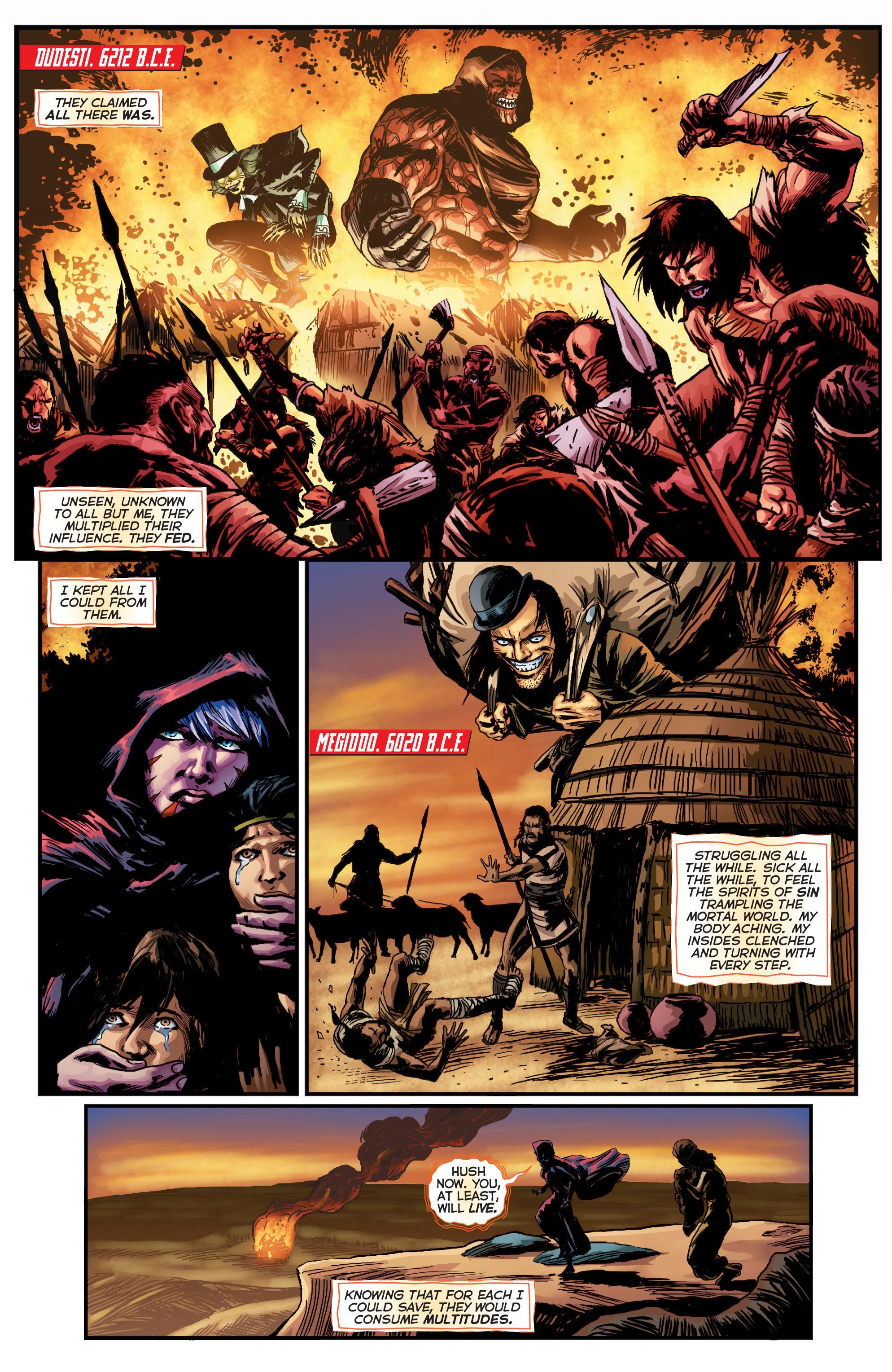 Read online Trinity of Sin: Pandora comic -  Issue #1 - 9