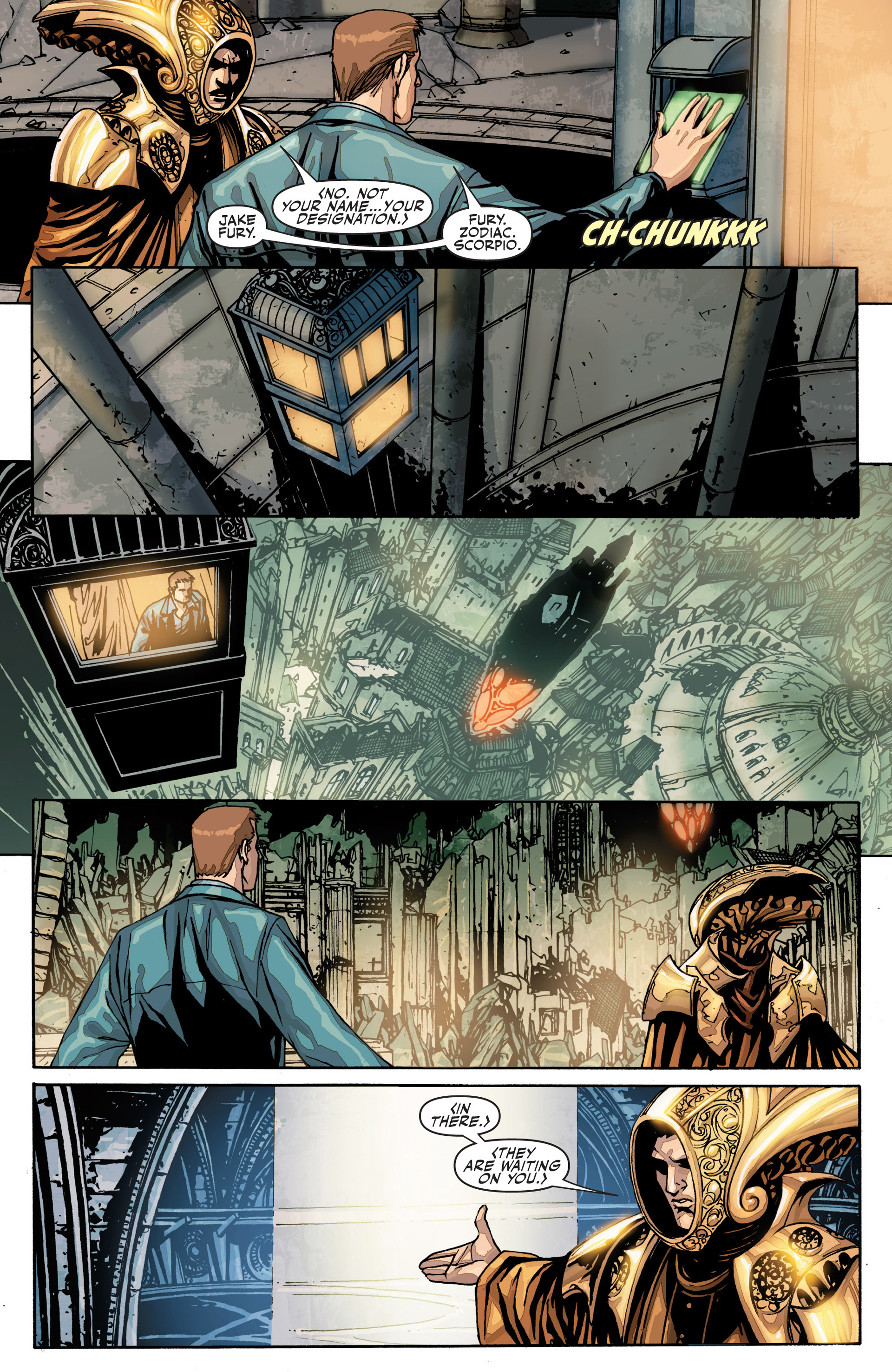 Read online Secret Warriors comic -  Issue #25 - 4