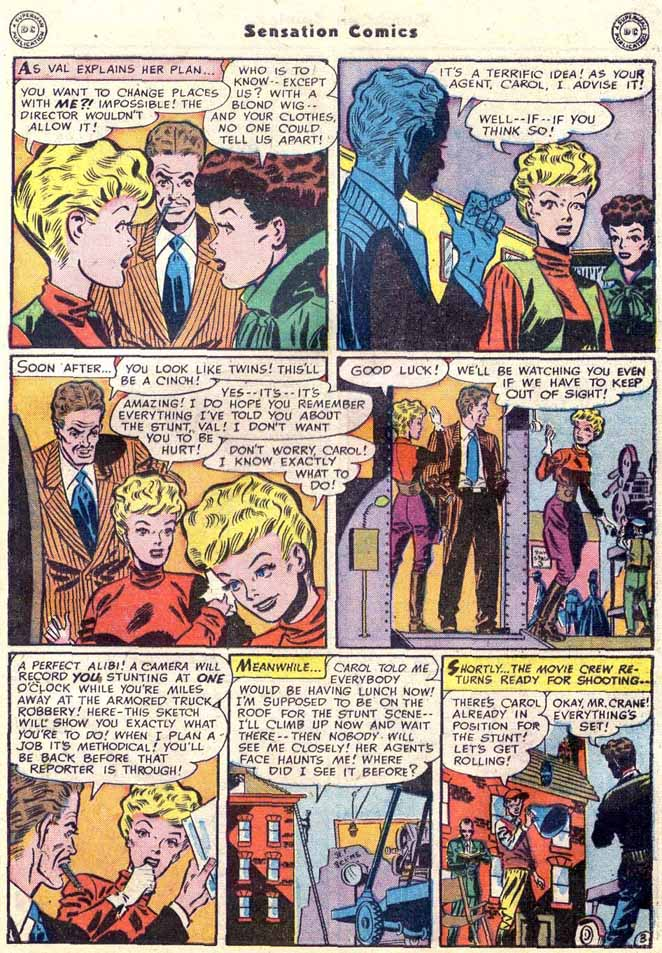 Read online Sensation (Mystery) Comics comic -  Issue #89 - 43