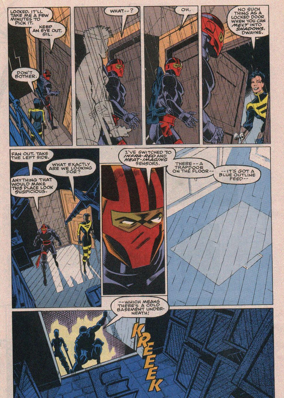 The New Warriors Issue #18 #22 - English 14