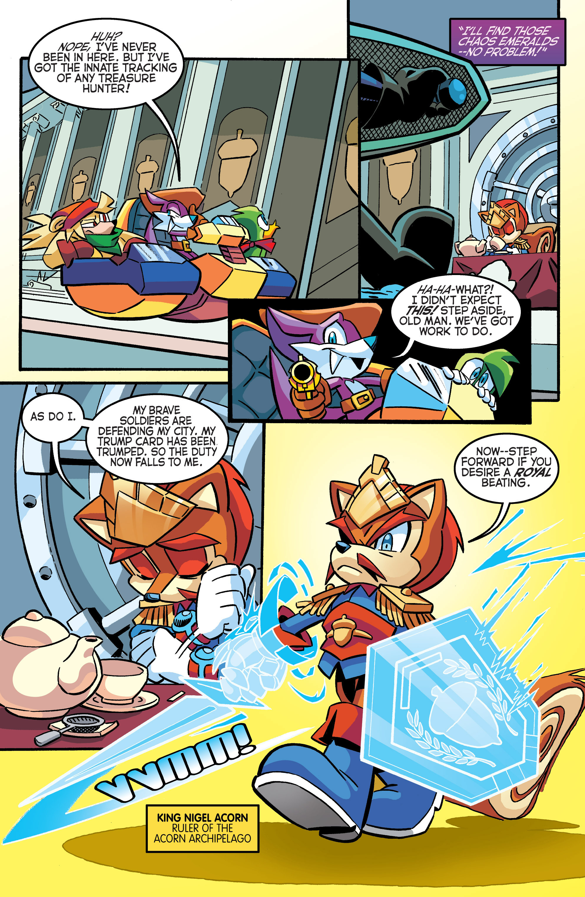 Read online Sonic The Hedgehog comic -  Issue #284 - 11