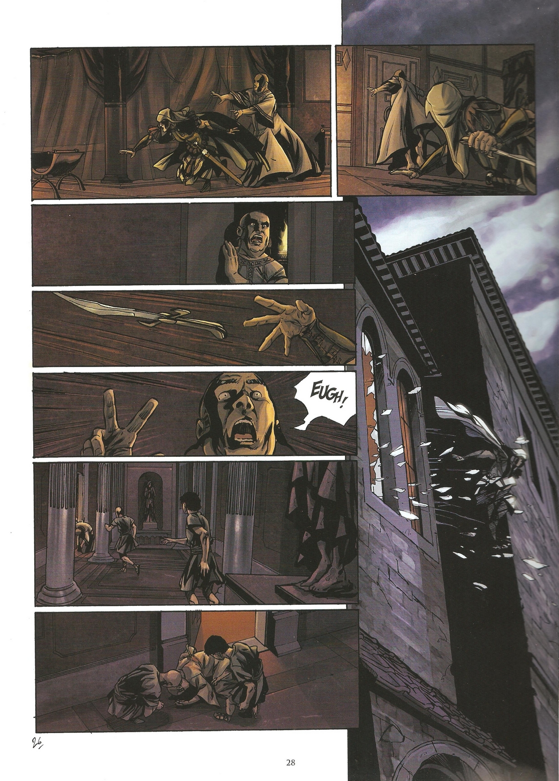 Read online Assassin's Creed (2009) comic -  Issue #2 - 28