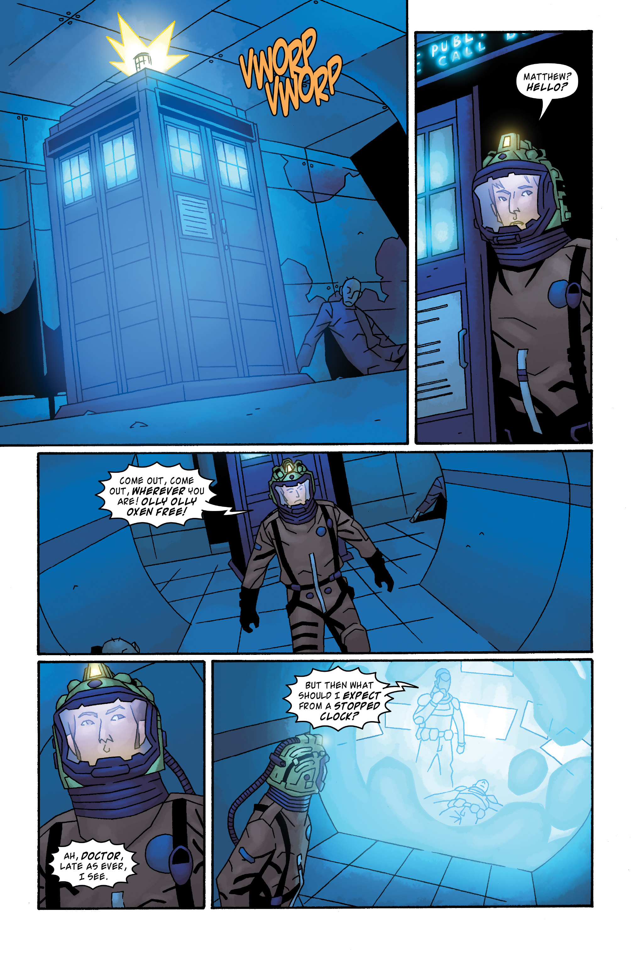 Read online Doctor Who: The Tenth Doctor Archives comic -  Issue #33 - 18