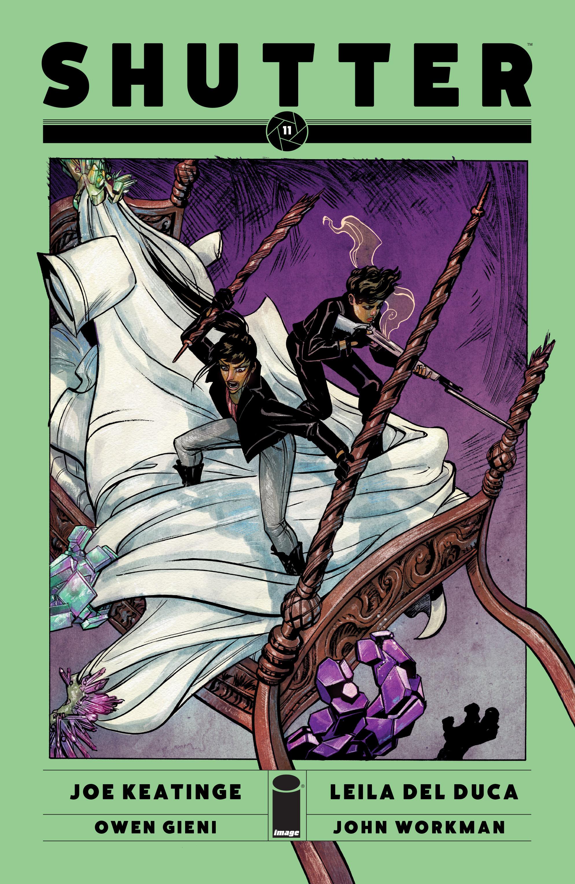 Read online Shutter comic -  Issue #11 - 1