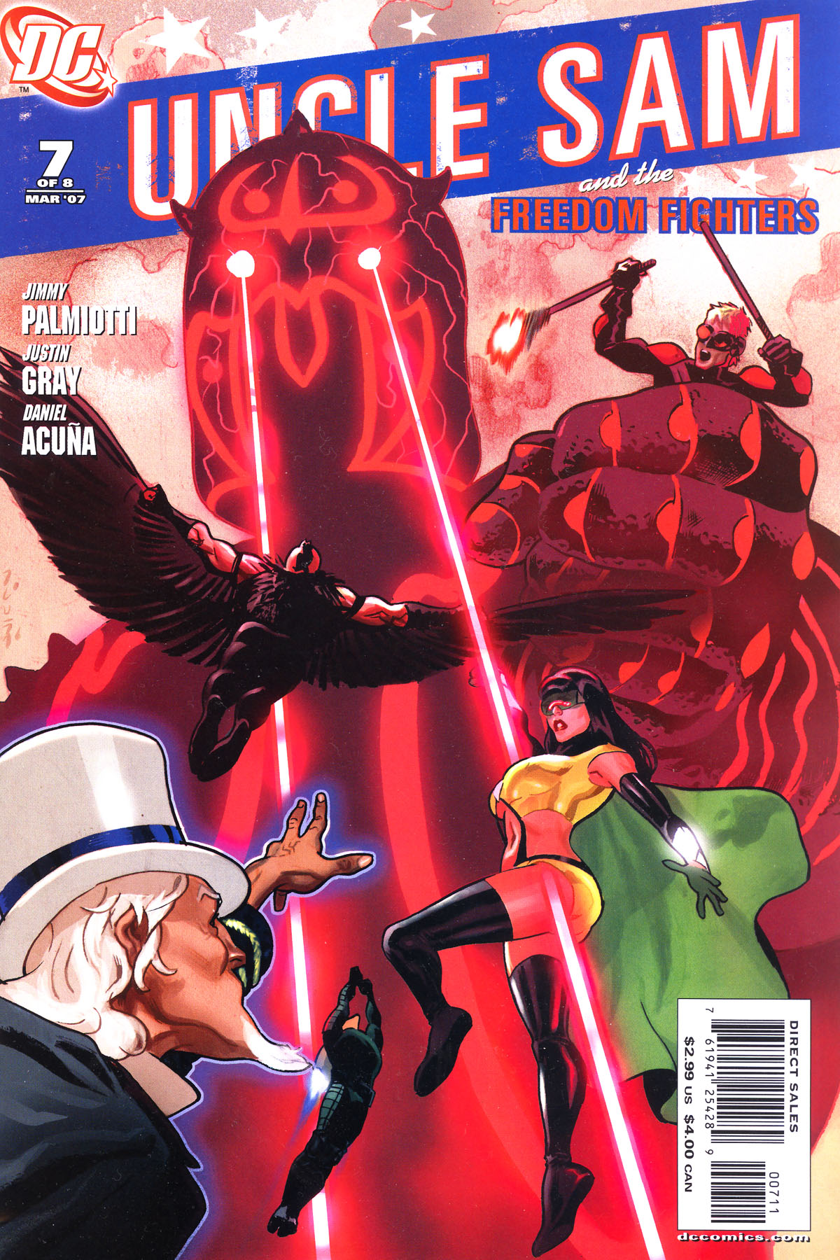Read online Uncle Sam and the Freedom Fighters (2006) comic -  Issue #7 - 2