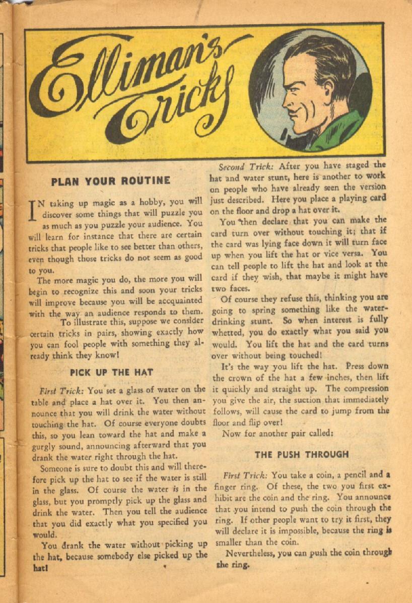 Read online Super-Magician Comics comic -  Issue #52 - 48