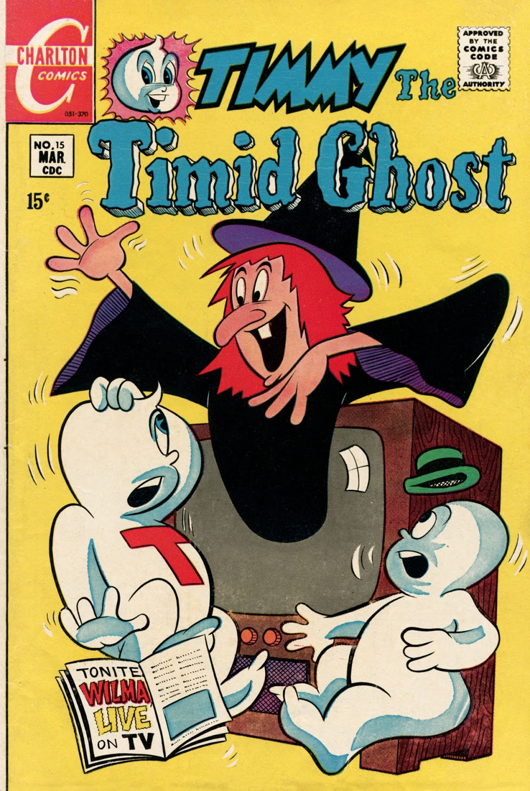 Read online Timmy the Timid Ghost comic -  Issue #15 - 1