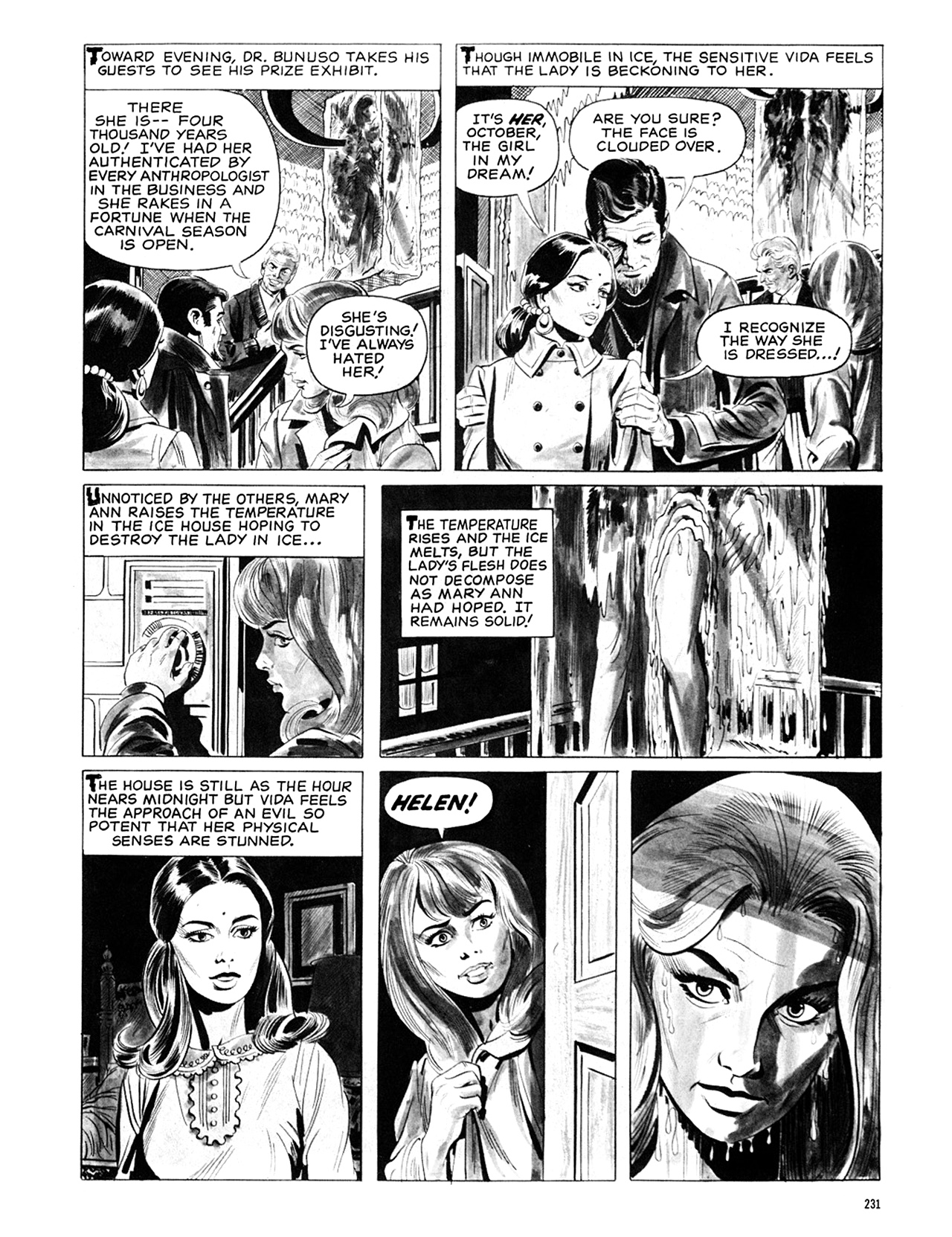 Read online Eerie Archives comic -  Issue # TPB 6 - 230