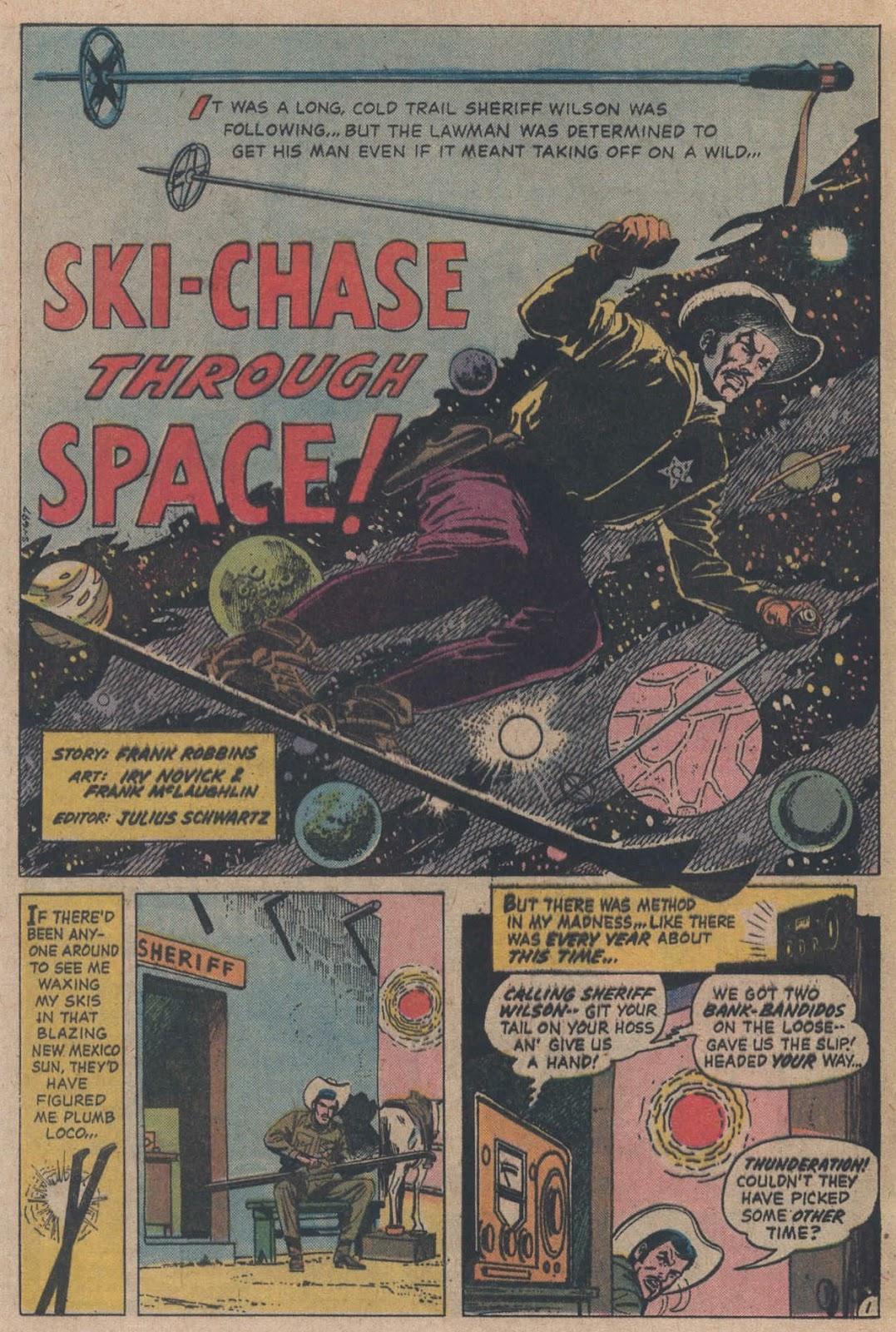 Read online Strange Sports Stories (1973) comic -  Issue #5 - 19