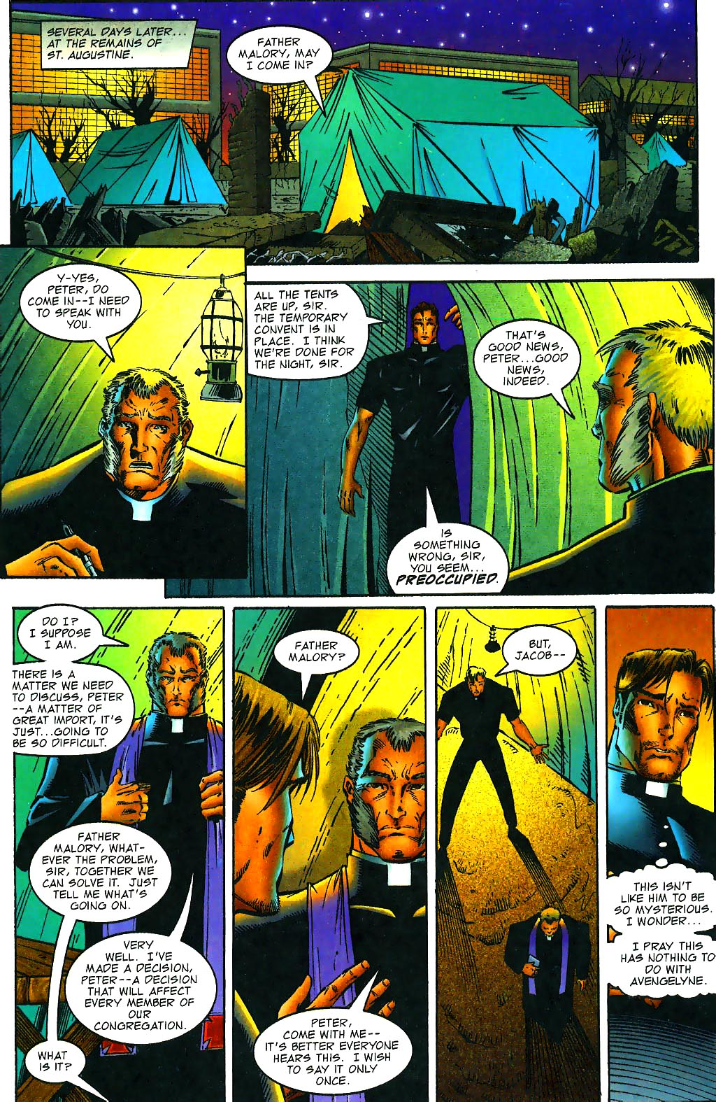 Read online Avengelyne (1996) comic -  Issue #1 - 13