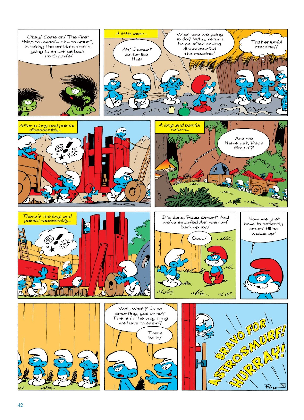 Read online The Smurfs comic -  Issue #7 - 42