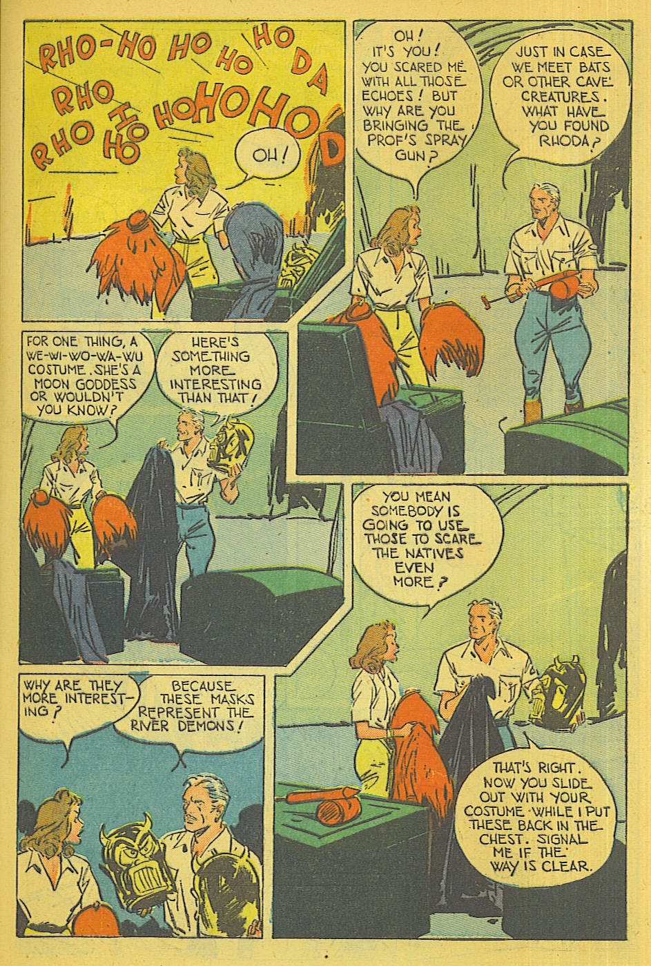 Read online Super-Magician Comics comic -  Issue #39 - 10