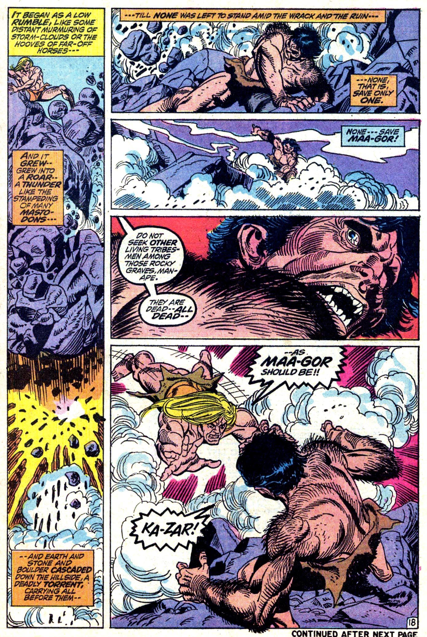 Read online Astonishing Tales (1970) comic -  Issue #11 - 19