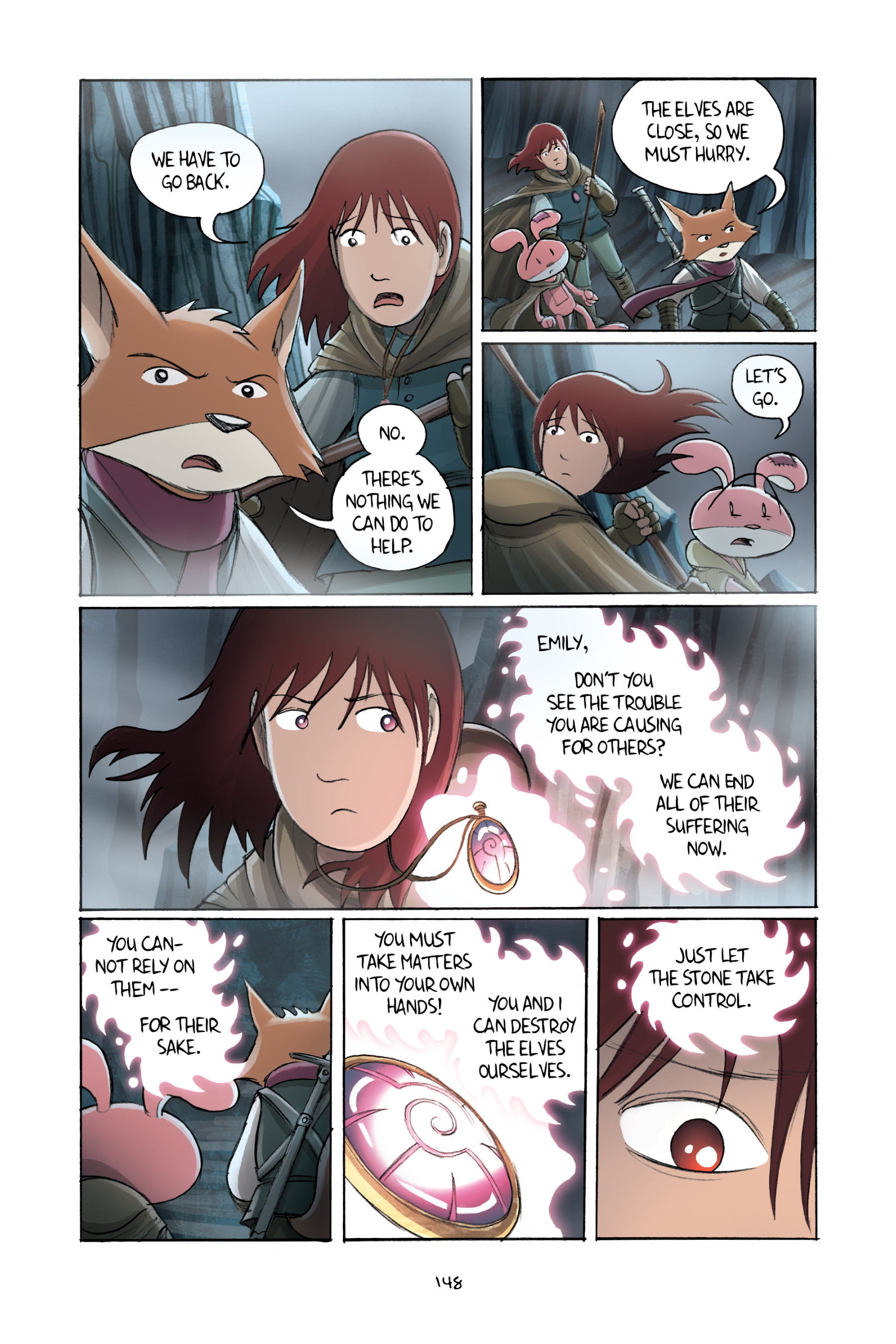 Read online Amulet comic -  Issue #2 - 147