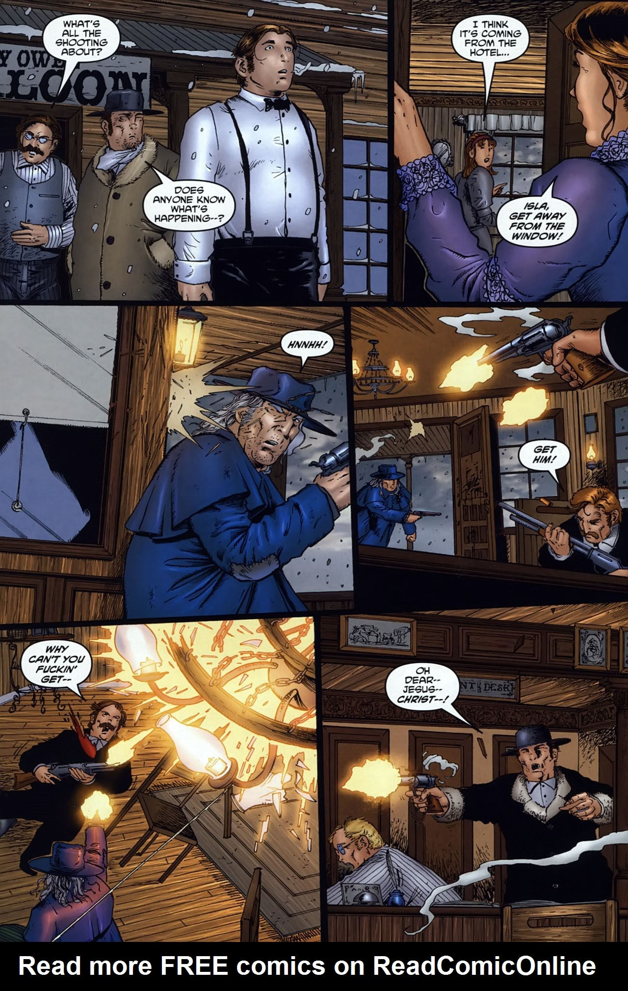 Read online Garth Ennis' Streets of Glory comic -  Issue #6 - 22