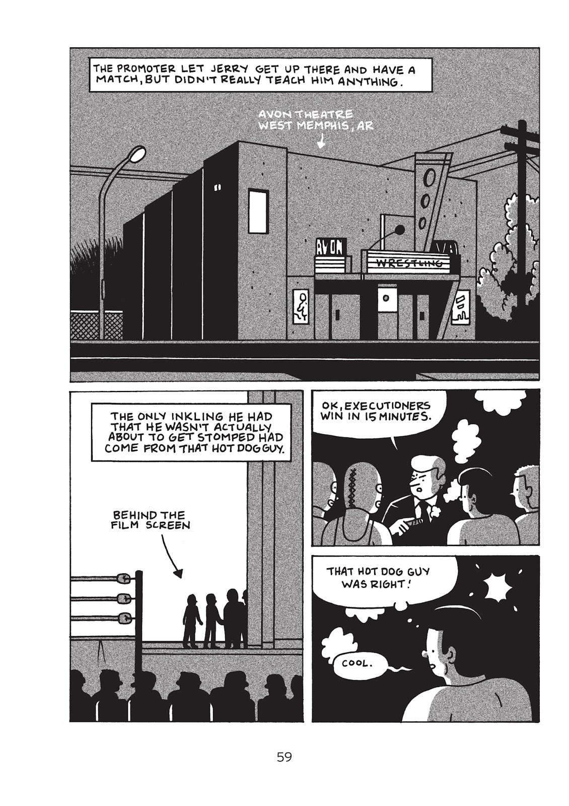 Read online Is This Guy For Real?: The Unbelievable Andy Kaufman comic -  Issue # TPB (Part 1) - 64