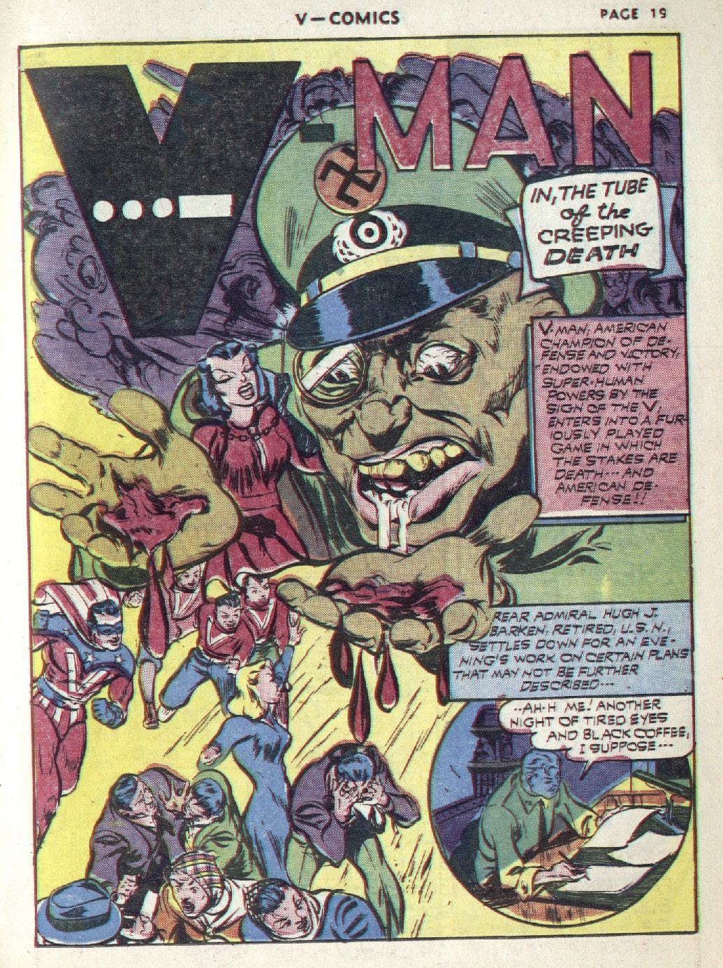 Read online V...- Comics comic -  Issue #1 - 21