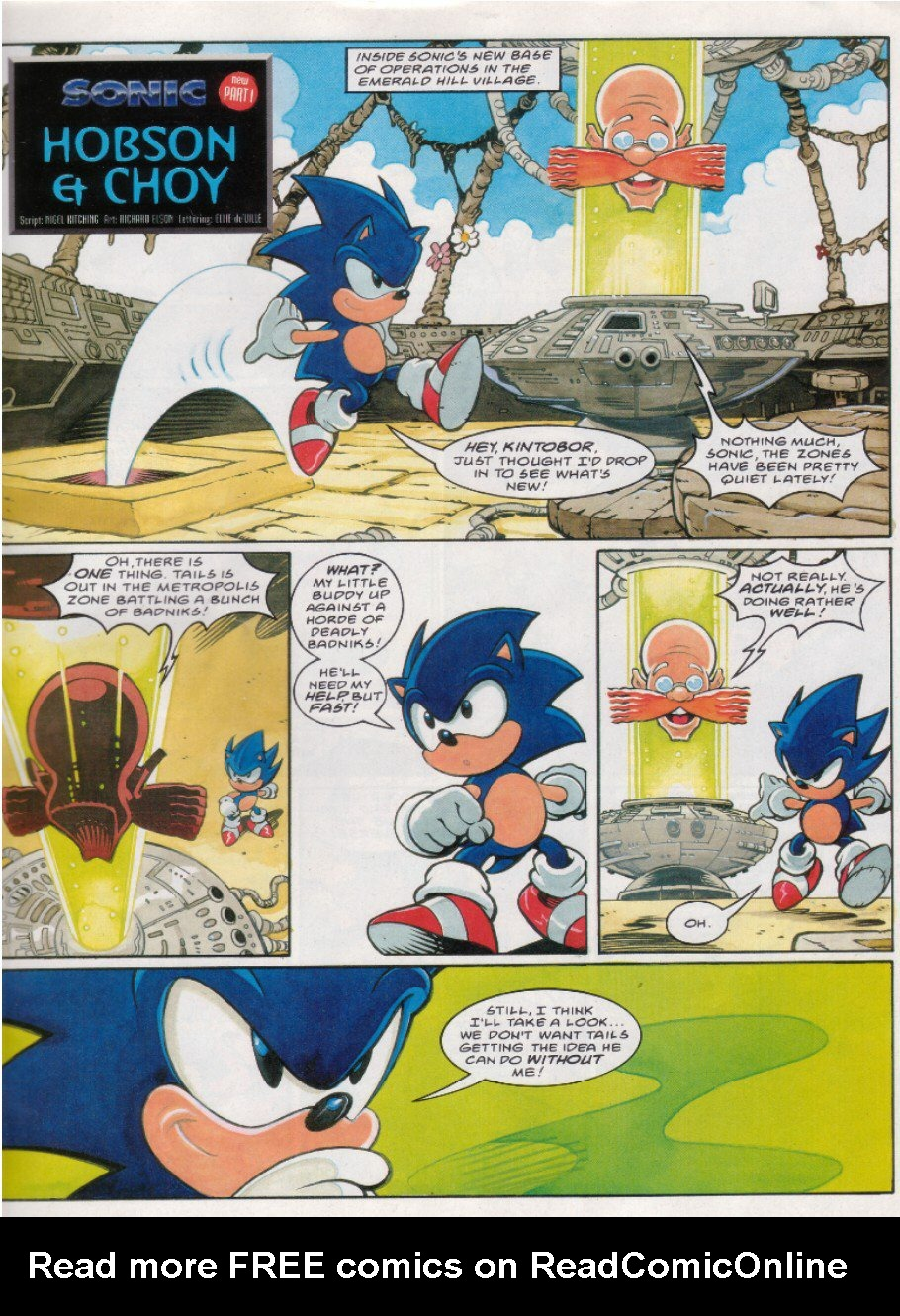 Read online Sonic the Comic comic -  Issue #121 - 3