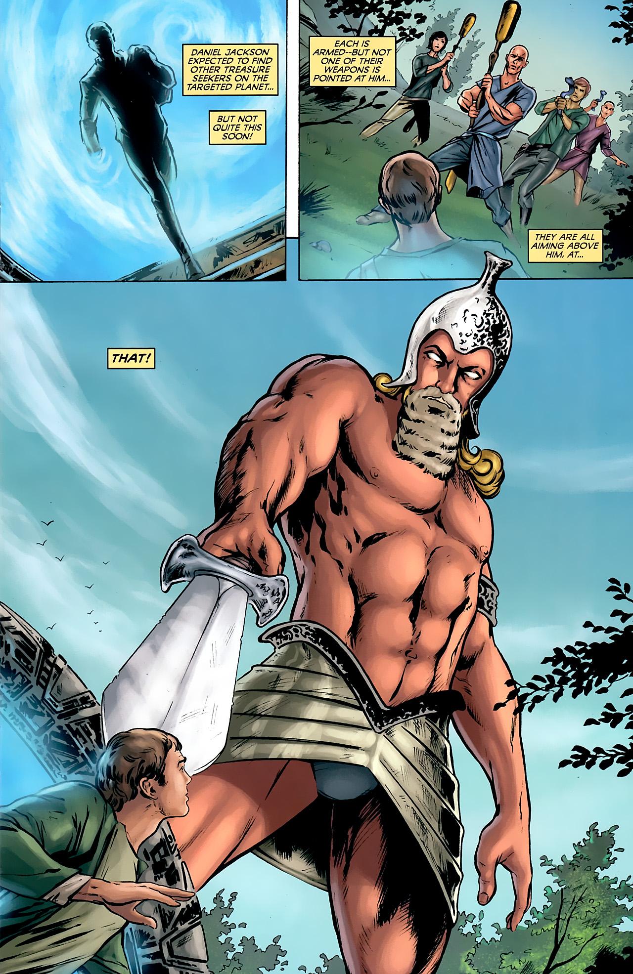 Read online Stargate: Daniel Jackson comic -  Issue #2 - 3