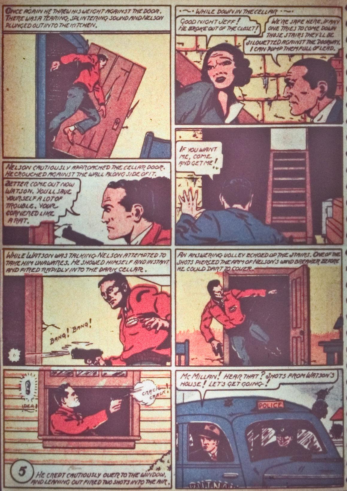 Read online Detective Comics (1937) comic -  Issue #26 - 26