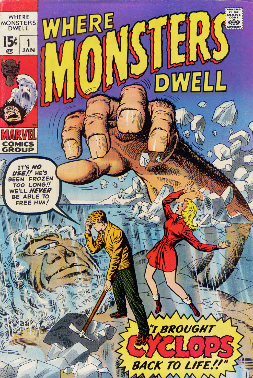 Where Monsters Dwell (1970) issue 1 - Page 1