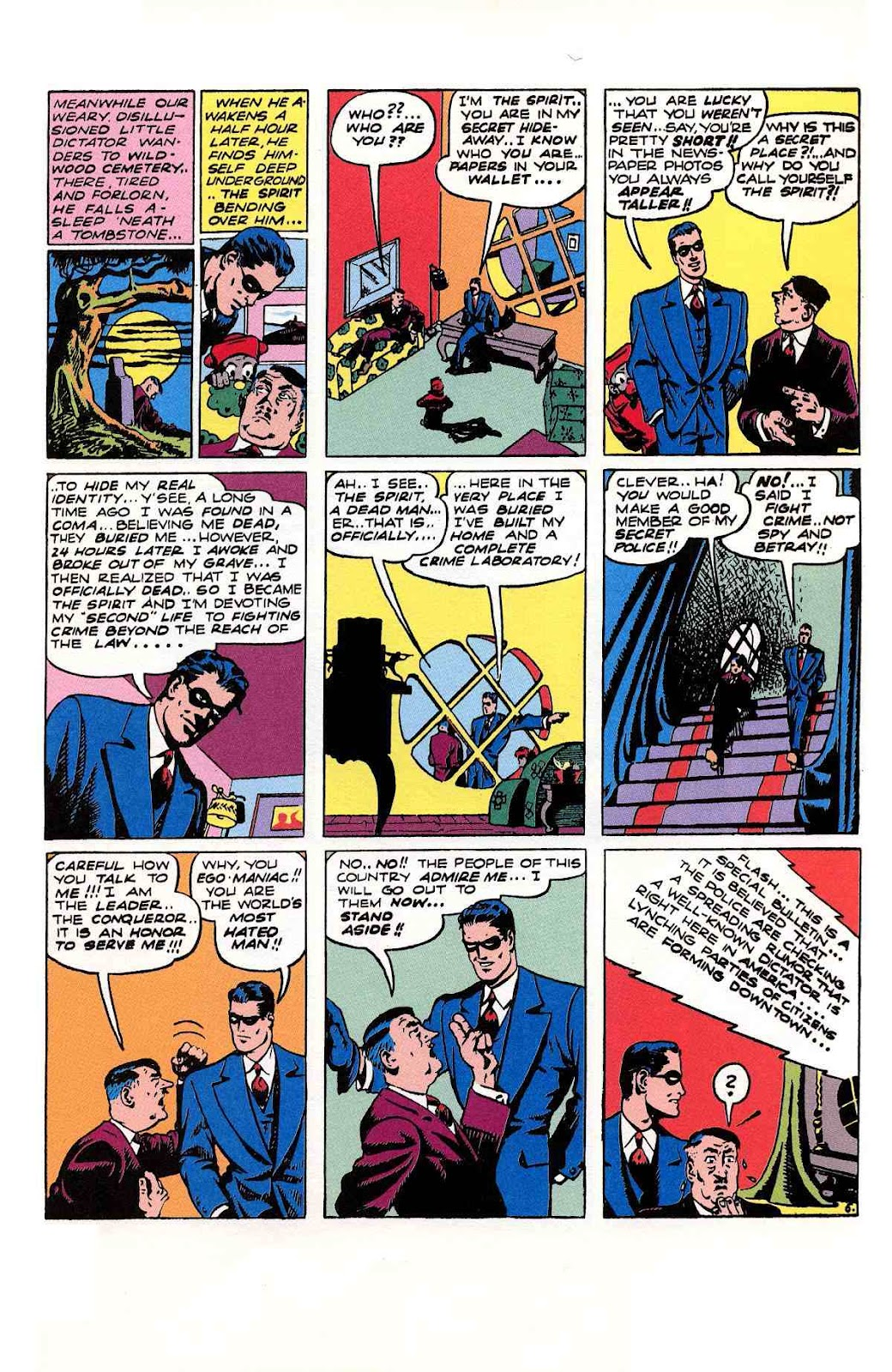 Read online Will Eisner's The Spirit Archives comic -  Issue # TPB 2 (Part 2) - 97