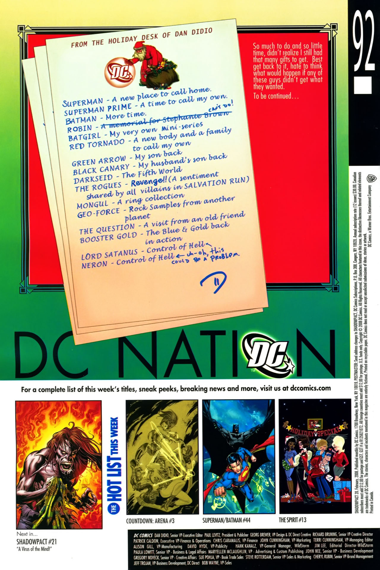 Read online Shadowpact comic -  Issue #20 - 24
