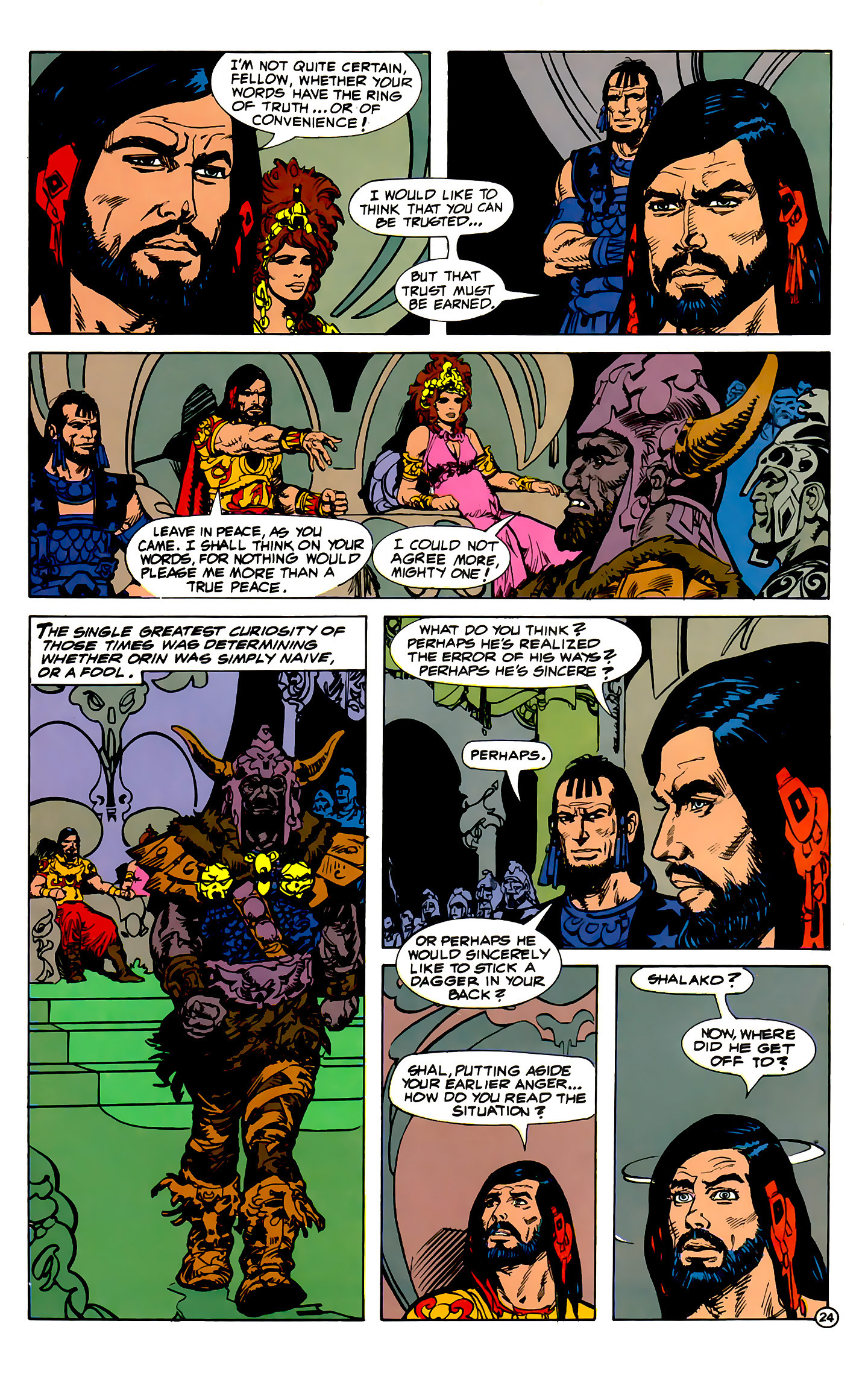 Read online Atlantis Chronicles comic -  Issue #1 - 24